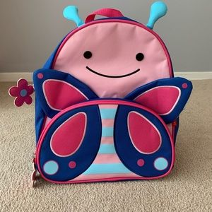 Skiphop butterfly backpack